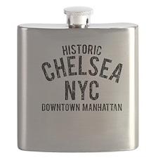 Historic Chelsea NYC Flask