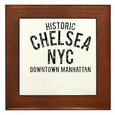 Historic Chelsea NYC Framed Tile