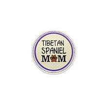 Tibetan Spaniel Dog Mom Mini Button
