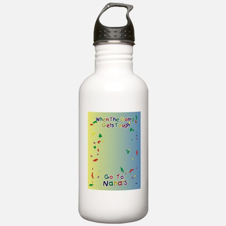 Go To Nanas Water Bottle