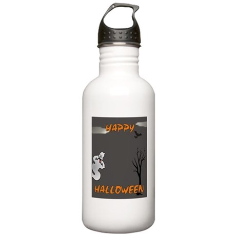 Happy Halloween Ghost Stainless Water Bottle 1.0L