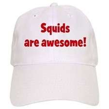 Squids are awesome Baseball Cap