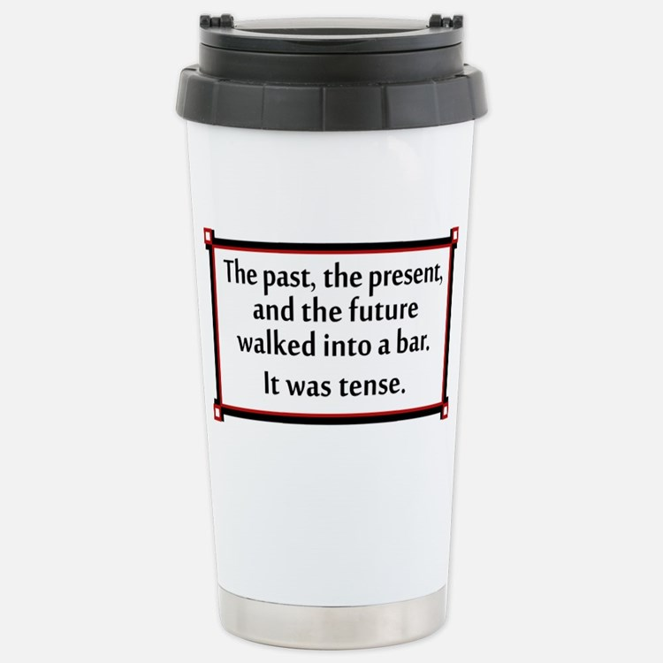 The past, present and future wa Travel Mug