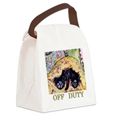 Scottish Terrier Off Duty Canvas Lunch Bag