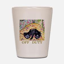 Scottish Terrier Off Duty Shot Glass