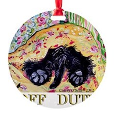 Scottish Terrier Off Duty Ornament
