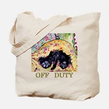 Scottish Terrier Off Duty Tote Bag