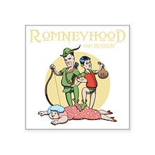 "romneyhood-DKT Square Sticker 3"" x 3"""