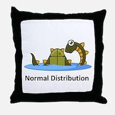Normal Distribution Throw Pillow