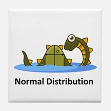 Normal Distribution Tile Coaster
