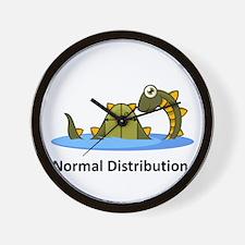 Normal Distribution Wall Clock