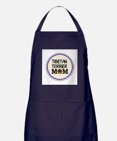 Tibetan Terrier Dog Mom Apron (dark)
