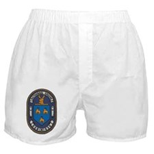 uss nathanael greene patch transparen Boxer Shorts