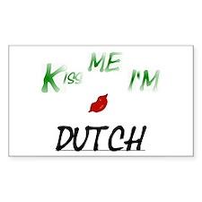 Dutch Rectangle Decal