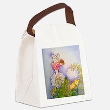 Dandelion Wishing Fairy Canvas Lunch Bag