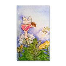 Dandelion Wishing Fairy Rectangle Car Magnet