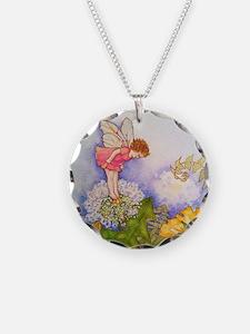 Dandelion Wishing Fairy Necklace