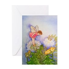 Dandelion Wishing Fairy Greeting Card