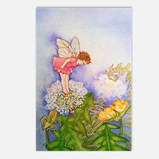 Dandelion Wishing Fairy Postcards (Package of 8)