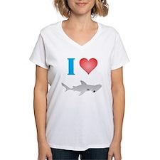 I Love Hammerhead Sharks Shirt