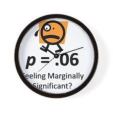 Feeling Marginally Significant? Wall Clock