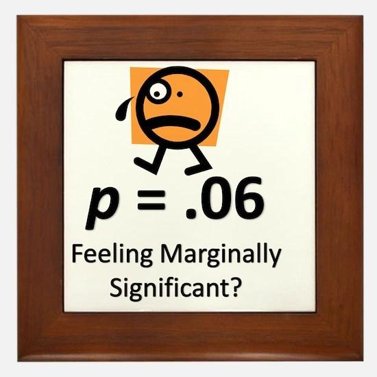 Feeling Marginally Significant? Framed Tile