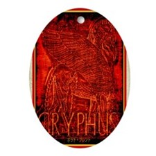 Gryphus Oval Ornament