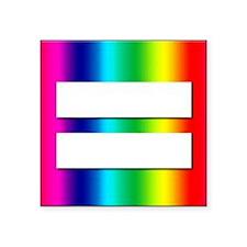 "EQUALITY Square Sticker 3"" x 3"""