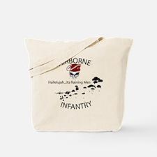 airborne infantry Tote Bag