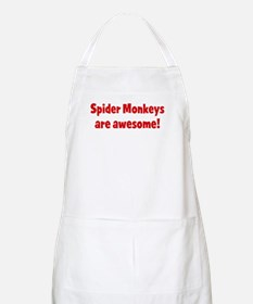 Spider Monkeys are awesome BBQ Apron