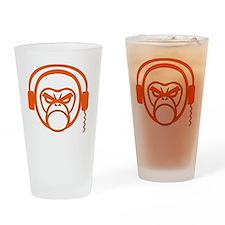 DJ Monk Drinking Glass