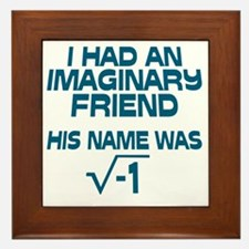 Imaginary Friend Framed Tile