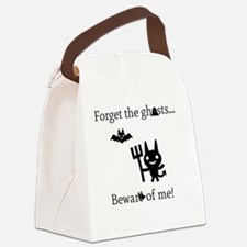 Forget the Ghosts Canvas Lunch Bag