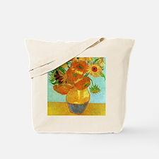 Twelve Sunflowers Tote Bag