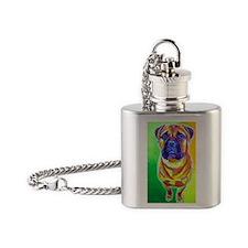 Mastiff #4 Flask Necklace