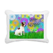 Birthday Jack Russell Te Rectangular Canvas Pillow