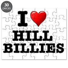 I LOVE - HILL BILLIES Puzzle