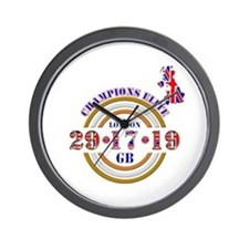 Sporting champions elite british winner Wall Clock