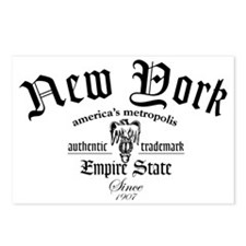 New York Empire Tee Postcards (Package of 8)