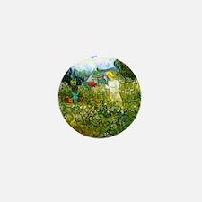 Van Gogh Marguerite Gachet in the Gard Mini Button