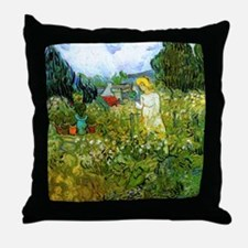 Van Gogh Marguerite Gachet in the Gar Throw Pillow