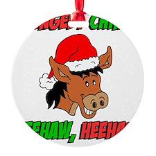 Italian Christmas Donkey Ornament