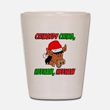 Italian Christmas Donkey Shot Glass