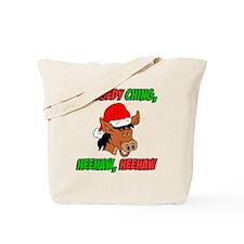 Italian Christmas Donkey Tote Bag