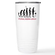 natural born griller Travel Coffee Mug
