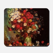 Van Gogh Flowers Mousepad