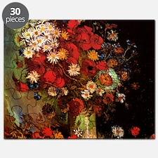 Van Gogh Flowers Puzzle