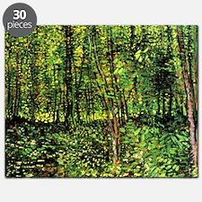 Van Gogh Trees And Undergrowth Puzzle