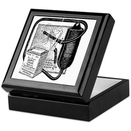 vintage douche bag keepsake box by admin cp70143329. Black Bedroom Furniture Sets. Home Design Ideas