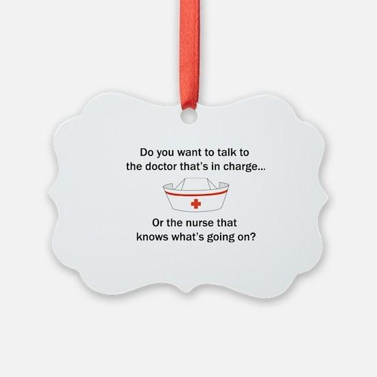 Doctor-Nurse Ornament